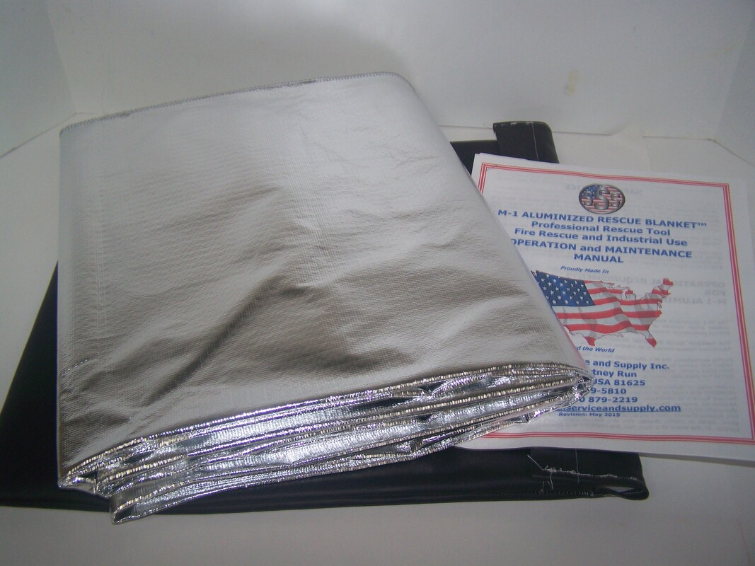 M-1 Aluminized Rescue Blanket