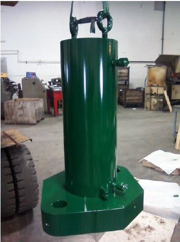 "250 ton 18"" stroke cylinder picture"