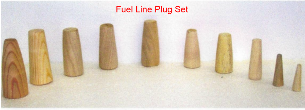 Fuel Line and Leak Sealing Plugs Picture